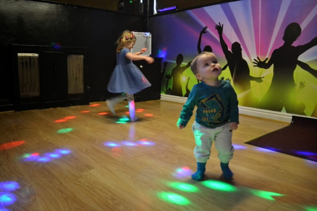 Disco Room at Funky Town Soft Play Chester