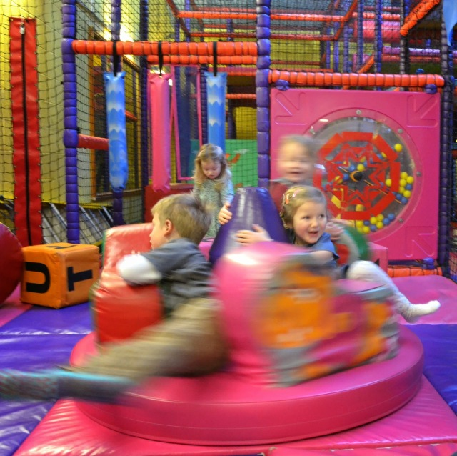 Toddler area at Funky Town soft play Chester