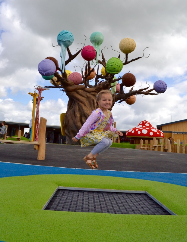 Cheshire Ice Cream Farm Play Trampoline